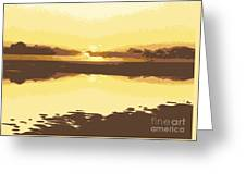 Horizon 2 Greeting Card