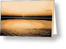 Horizon 3 Greeting Card