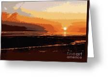 Horizon 4 Greeting Card