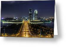 Horizon Of Putrajaya Greeting Card by Mario Legaspi