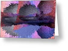 Horizontal Reflection Greeting Card