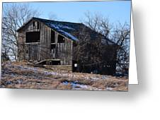 Horning Road Barn2 Greeting Card by Jennifer  King