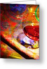 Hors D Age Cognac And Stogie Greeting Card by Wingsdomain Art and Photography