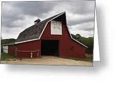 Horse Barn Greeting Card