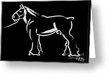 Horse - Big Fella Greeting Card