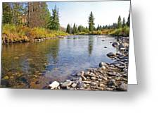 Horse Creek Wy Greeting Card