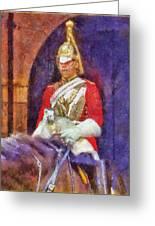 Horse Guard No.1 Greeting Card