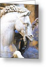Horse Of Neptune Greeting Card