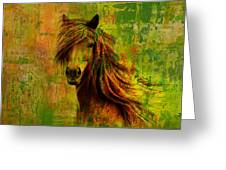 Horse Paintings 001 Greeting Card