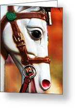 Horse Ride Greeting Card by John Rizzuto