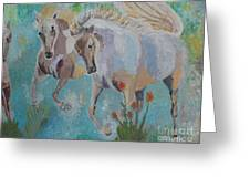 Horses From Camargue 2 Greeting Card