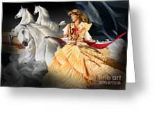 Horses Of The Night Greeting Card
