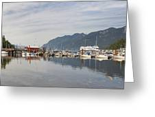 Horseshoe Bay Vancouver Bc Canada Greeting Card