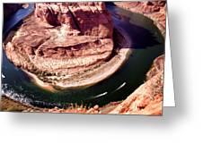 Horseshoe Bend Boat Race - Page Arizona Greeting Card