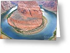 Horseshoe Bend Two Greeting Card
