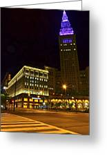 Horseshoe Casino Cleveland Greeting Card
