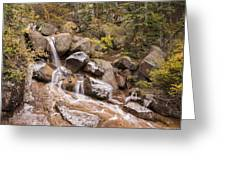 Horsethief Falls - Cripple Creek Colorado Greeting Card