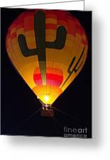 Hot Air Above Arizona Greeting Card