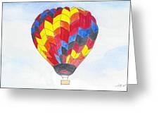 Hot Air Balloon 05 Greeting Card