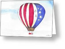 Hot Air Balloon 07 Greeting Card