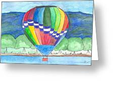 Hot Air Balloon 11 Greeting Card