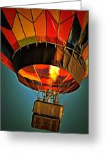 Hot Air Balloon  Greeting Card