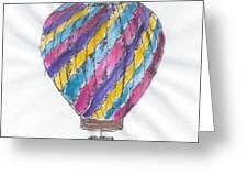 Hot Air Balloon Misc 02 Greeting Card