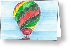 Hot Air Balloon Misc 03 Greeting Card