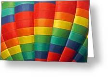 Hot Air Balloon Painterly Greeting Card
