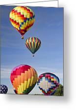 Hot Air Balloon Race Greeting Card
