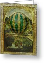Hot Air Balloon Voyage Greeting Card