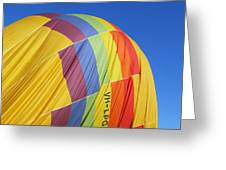 Hot Air Ballooning 2am-110966 Greeting Card