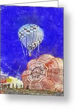 Hot Air Balloons Photo Art 04 Greeting Card