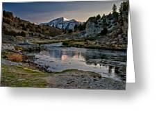 Hot Creek Greeting Card