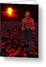 Hot Devil Greeting Card