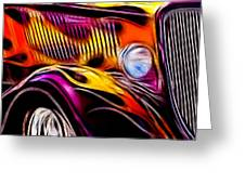 Hot Ford 1 Greeting Card
