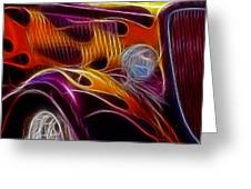Hot Ford 2 Greeting Card