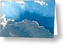 Hot Italian Clouds Greeting Card