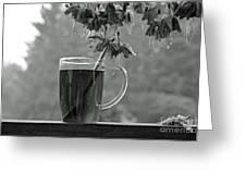 Hot Licorice Tea Greeting Card