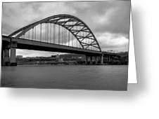 Hot Metal Bridge Greeting Card