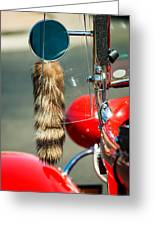 Hot Rod Coon's Tail Greeting Card