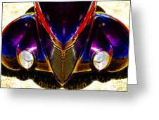 Hot Rod Eyes Greeting Card by motography aka Phil Clark