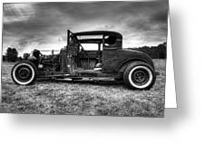 Hot Rod Revisited Greeting Card