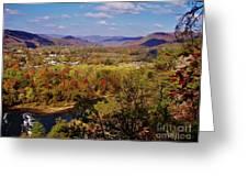 Hot Springs Overlook Greeting Card