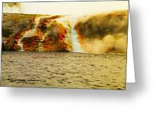 Hot Water Pouring Greeting Card