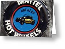 Hot Wheels Hot Heap Greeting Card