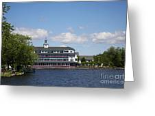 Hotel At Lake Winnipesaukee Greeting Card