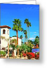 Hotel California Palm Springs Greeting Card