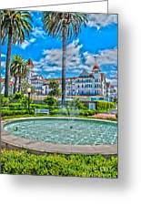 Hotel Del Plams Greeting Card