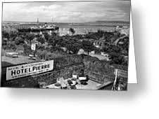 Hotel Pierre Dun Laoghaire 1958 Greeting Card